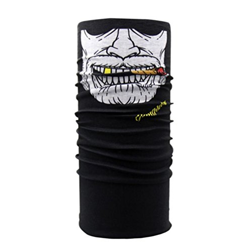 JP-DPP9 Clown Cycling Motorcycle Neck Tube Ski Scarf Face Mask Balaclava Halloween Party (C) for $<!--$1.00-->
