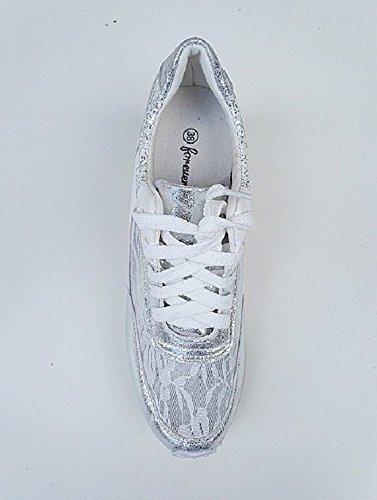 Zapatillas Fashionfolie Mujer Deporte De Sintético Material fxRwFaqU
