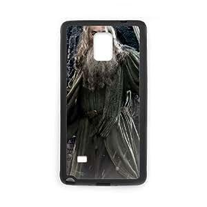 Gandalf funda Samsung Galaxy Note 4 caja funda del teléfono celular del teléfono celular negro cubierta de la caja funda EEECBCAAJ10862