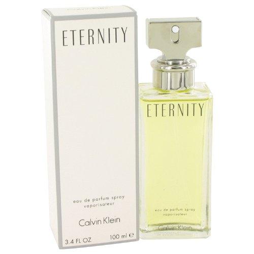 ETERNITY by Calvin Klein Eau De Parfum Spray 3.4 oz / 100 ml for Women 413084