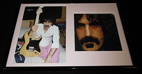 Frank Zappa 12x18 Framed Apostrophe Photo Display