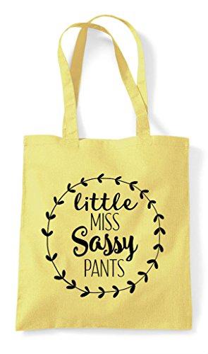 Miss Tote Lemon Shopper Statement Sassy Pants Bag Little fqSwOZS