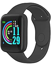"""Bluetooth Smart Watch, 1.44"""" Touchscreen Fitness Wristwatch, Fitness Tracker Remote Control Camera, Smart Watch for Compatible Android iOS"""
