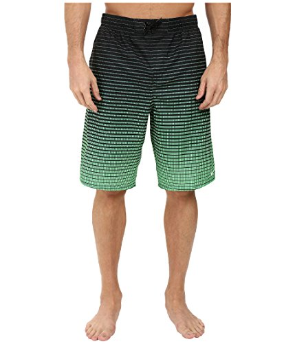 Nike Continuum 11 Volley Shorts Electro Green Mens Swimwear