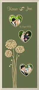 Grabado Alarma® fotos boda 1207260x 25cm grabado personal datos