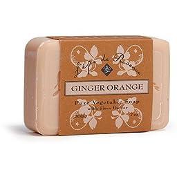 L\'Epi de Provence Shea Butter Enriched French Bath Soap - Ginger Orange - 7 oz. - 200g