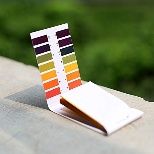 Amazon.com: Aprettysunny PH test paper test acid and alkali test strip: Office Products