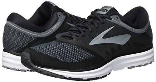Black Running Brooks Men's Shoe Revel Grey TYqIa4xIOw