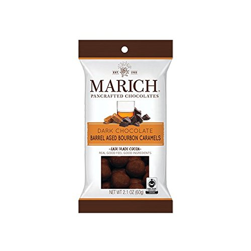 Marich Dark Chocolate Barrel Aged Bourbon Caramels