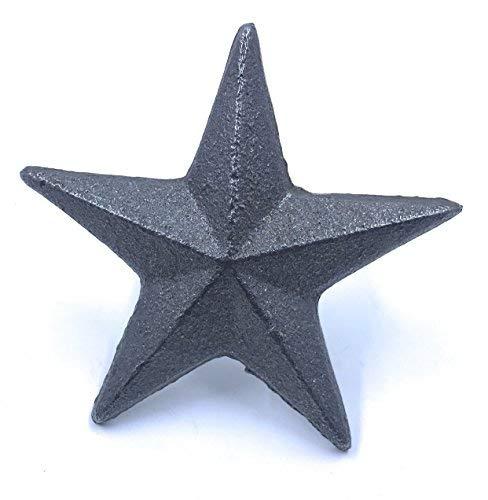 Cast Iron Nail Star Set of 12 ()