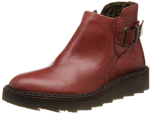 Desert Rouge London Fly Noir Red Boots Femme Amie954fly 8E77qwY