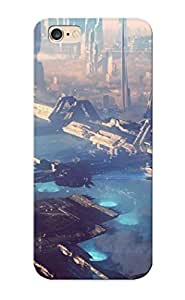 Blackducks B1902b8395 Case Cover Skin For Iphone 6 Plus (futuristic Floating City )/ Nice Case With Appearance
