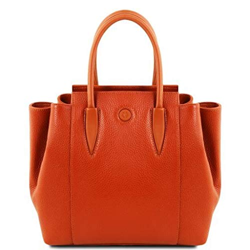 Tuscany Leather Tulipan Leather handbag Brandy