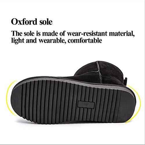 Sneaker Grado Outdoor Caldo Pelliccia Donna Da Scarpe Neve Impermeabile Invernali Uomo Stivali Scarponi Piatto 8pOzwYP