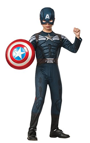 Rubies Captain America: The Winter Soldier Deluxe Stealth Suit Costume, Child Large