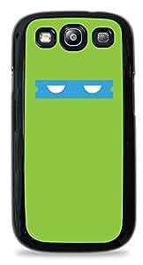 Teenage Mutant Ninja Turtles Minimal Black Designer Protective Case Cover for Samsung Galaxy S3