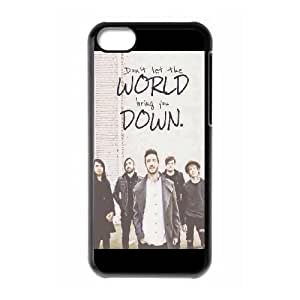 iPhone 5c Cell Phone Case Black Of mice & Men B8D4KN