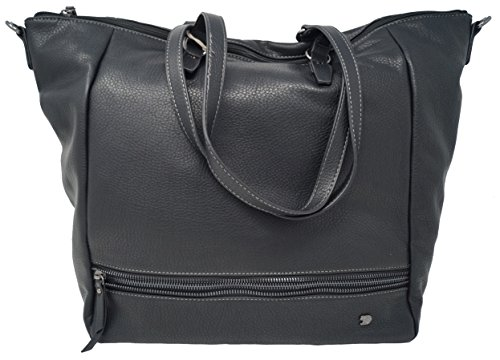 Tom Tailor Denim Glori Shopper Bolso totes 49 cm negro