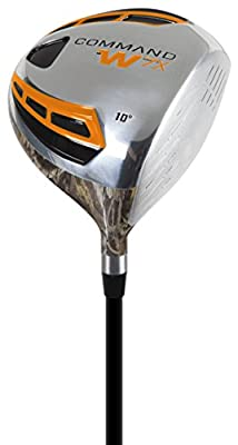 Pinemeadow Golf Men's Command W7X Camo Driver, Right Hand, Graphite, 10-Degree, Regular
