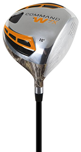 Pinemeadow Golf Men's Command W7X Camo Driver, Right Hand, Graphite, 10-Degree, Regular by Pinemeadow Golf