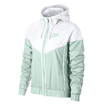 Nike Womens Sportswear Hooded Windrunner Jacket (Barely ...