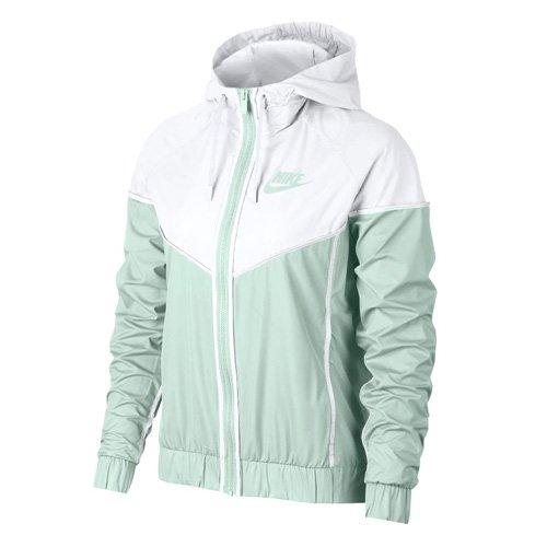NIKE Womens Windrunner Track Jacket Barely Grey/White