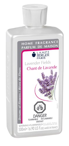 Lampe Berger Fragrance - Lavender Fields , 500ml / 16.9 fl.oz. (Oil Lavender Lamp)