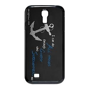 philippians 413 Samsung Galaxy S4 9500 Cell Phone Case Black xlb2-157034