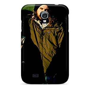 Shock Absorbent Hard Cell-phone Cases For Samsung Galaxy S4 (TuT9916rhVx) Unique Design Stylish Metallica Skin