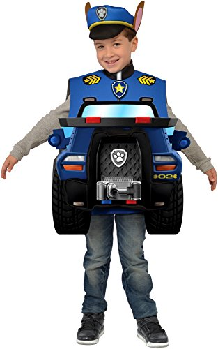 Paw Patrol Chase 3D Child Costume, Small