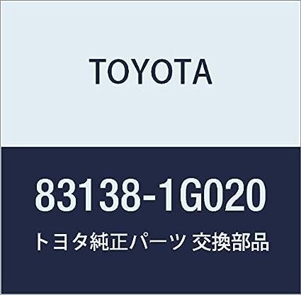 TOYOTA 83138-1G020 Speedometer Glass