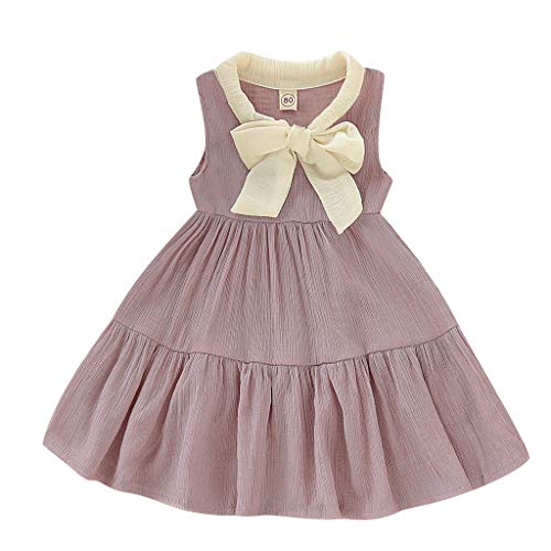 (Purple, 18-24 Months,Label Size:100) Baby Girl Easter Dress 6-9 Months, Girl Dress Up, Girl Dress Teal, Girl Dresses Size 10, Girl Dress Age 11 ()
