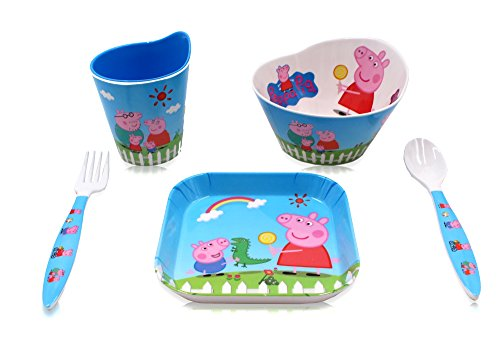 Finex Set of 5 - Peppa Pig Meal