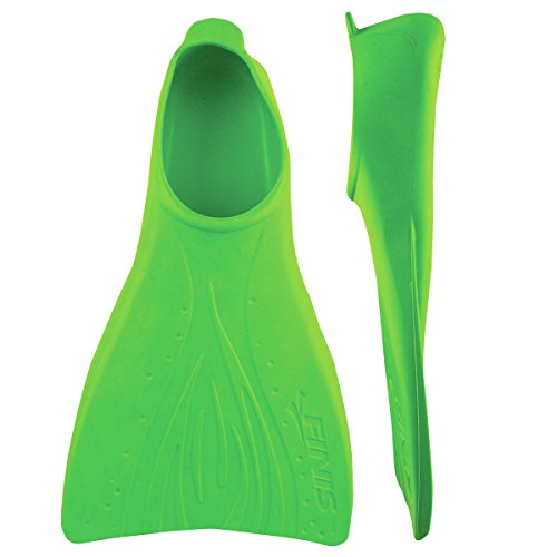(FINIS Booster Fins (Jr 8-11, Green))