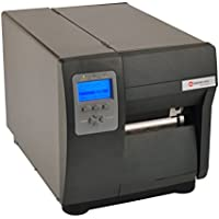 Datamax I12-00-48900C07 I-4212E Mark II Barcode Printer, 203 DPI/12 IPS, SER/PAR/USB/RTC, Wired/Wireless LAN, Cast Peel/Present/Internal Rewind, Media Hub, US Plug, 4 Thermal Transfer