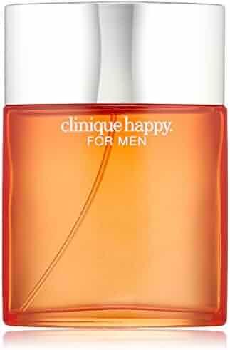 Clinique Happy for Men Eau de Toilette Spray, 3.4 Ounce