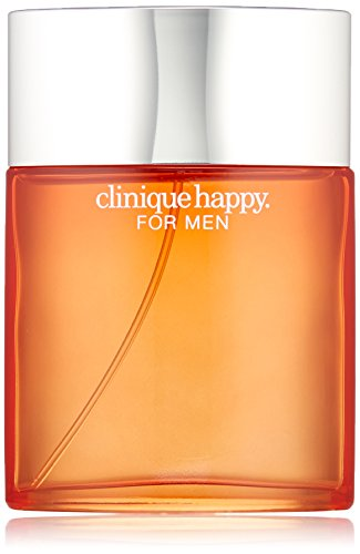 Clinique Happy for Men Eau de Toilette Spray, 3.4 Ounce