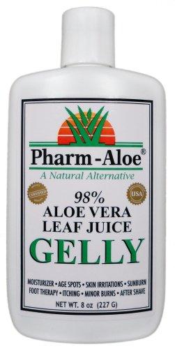 Pharm-Aloe® 98% Gel Aloe Vera Feuille (8 oz)