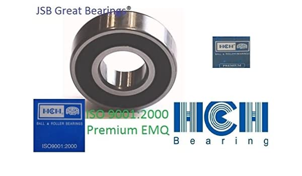 606-2RS two side rubber seals bearing 606-rs ball bearings 606 rs Qty.10