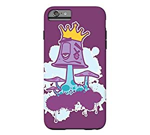 Mushroom King iPhone 6 Plus Byzantium Tough Phone Case - Design By Humans