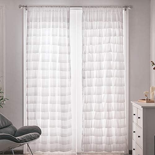 Kotile White Curtains