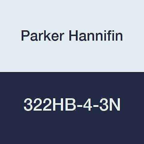 White Parker Hannifin 322HB-4-3N Par-Barb Nylon Union Connector Fitting 1//4 Hose Barb x 3//16 Hose Barb