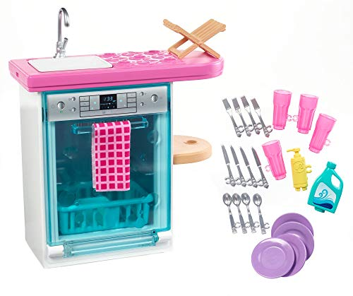 (Barbie Dishwasher Playset)
