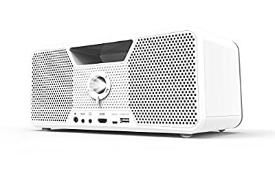 Dashbon Flicks Mobile Cordless Boombox Projector by Dashbon