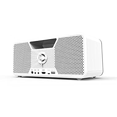 Dashbon Flicks Mobile Cordless Boombox Projector Model 280WH