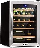 Klarstein Vinamour 19 - Nevera para vinos con puerta acristalada
