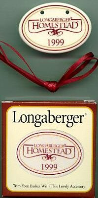 Longaberger 1999 Homestead Basket (Longaberger Basket Homestead)