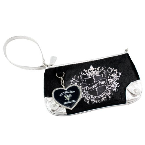 NHL Sport Luxe Fan Wristlet Pittsburgh Penguins agLHQNMyt