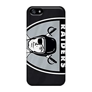 5/5s Scratch-proof Protection Cases Covers For Iphone/ Hot Oakland Raiders Phone Cases by ruishername