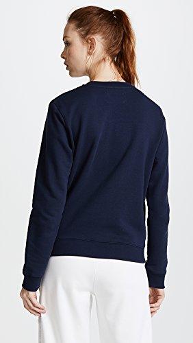 Tory Sport Women's Letterman Crew Sweater, Tory Navy, Medium by Tory Sport (Image #3)